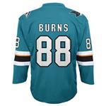 Adidas San Jose Sharks Burns Jersey - Youth