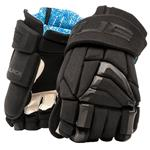 TRUE X-Core Black Hockey Gloves - Senior