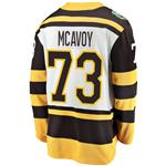 Fanatics Boston Bruins 2019 Winter Classic Replica Jersey - Charlie McAvoy - Adult