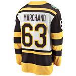 Fanatics Boston Bruins 2019 Winter Classic Replica Jersey - Brad Marchand - Adult