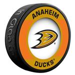 InGlasco NHL Retro Hockey Puck - Anaheim Ducks