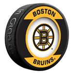 InGlasco NHL Retro Hockey Puck - Boston Bruins