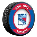 InGlasco NHL Retro Hockey Puck - New York Rangers