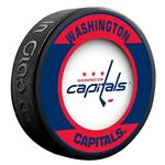 InGlasco NHL Retro Hockey Puck - Washington Capitals