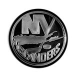 Chrome Auto Emblem - New York Islanders