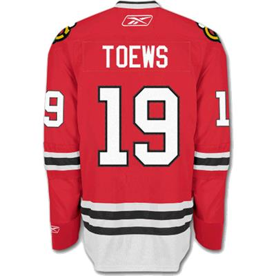 Reebok Jonathan Toews Hockey Jersey