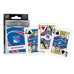 NHL Playing Cards - New York Rangers