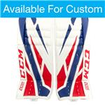 CCM Custom Extreme Flex 4 Goalie Leg Pads - Intermediate