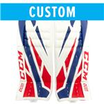 CCM Custom Extreme Flex 4 Goalie Leg Pads - Senior