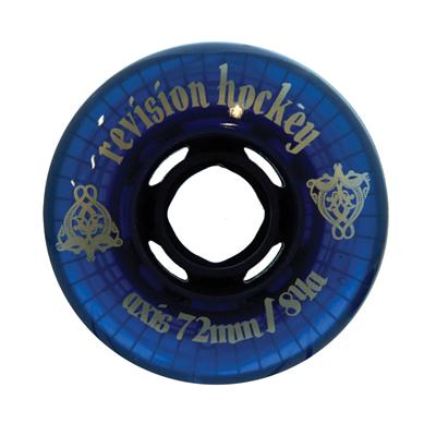Revision Axis Ghost Blue Outdoor Inline Hockey Wheel [HARD]