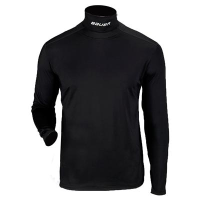 Bauer Core Long Sleeve Integrated Neck Top