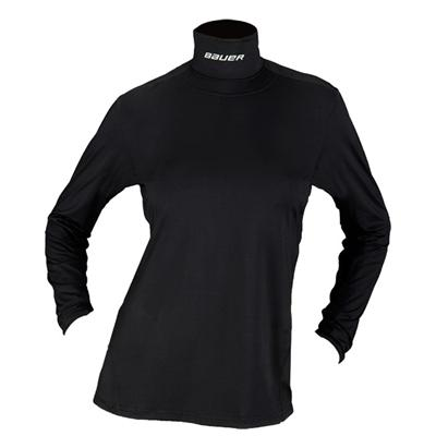 Bauer Core Long Sleeve Womens Integrated Neck Top