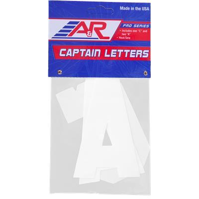 A&R Captain Letters