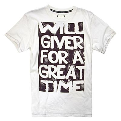 Gongshow Will Giver Tee Shirt