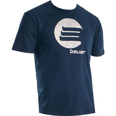 Bauer Inside Print Short Sleeve Tee Shirt