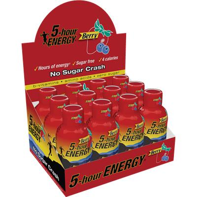 5 Hour Energy Shots - 12 Pack