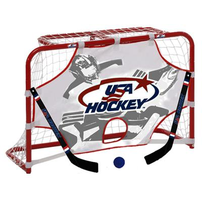 Winnwell USA Hockey Mini Hockey Set w/ Target