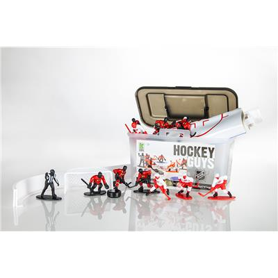Kaskey Kids Hockey Guys Blackhawks vs. Red Wings Guys