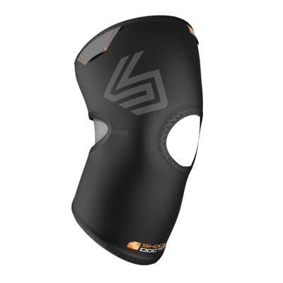 Shock Doctor 865 Knee Compression Sleeve with Open Patella Coverage
