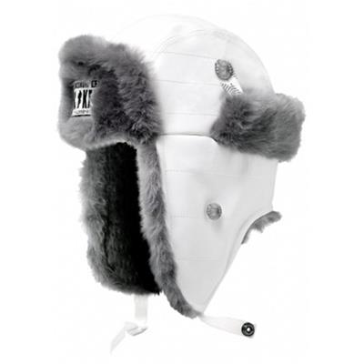 Gongshow White Trapper Winter Hat