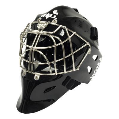 Wall USA Pro Active Black & Chrome Goalie Mask