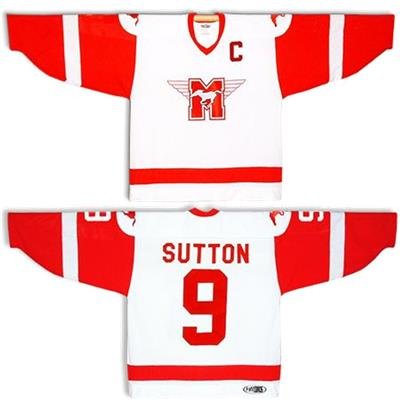 Mad Brothers Hamilton Mustangs Sutton Hockey Jersey