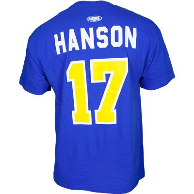 Mad Brothers Slap Shot #17 Hanson Tee Shirt