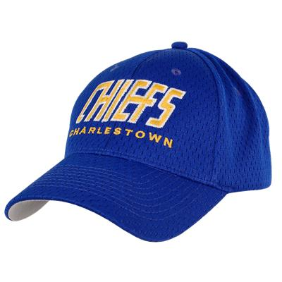 Mad Brothers Charlestown Chiefs War Memorial Arena Fitted Hat