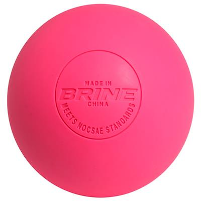 Brine Neon NOCSAE Lacrosse Ball - Single