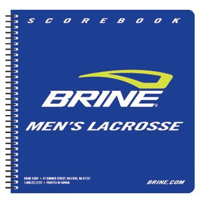 Brine Mens Lacrosse Score Book
