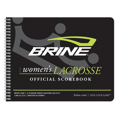 Brine Women's Lacrosse Score Book