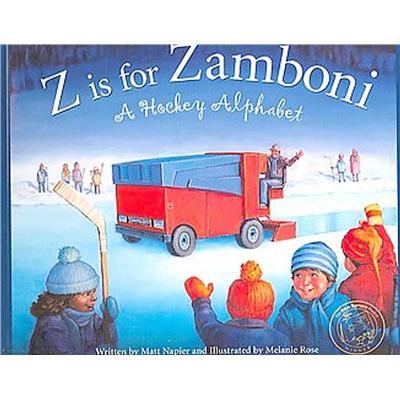 Z Is For Zamboni: A Hockey Alphabet Board Book