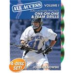 All Access Duke Lacrosse Practice Volume 1: One on One Team Drills