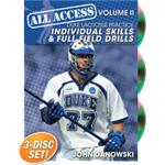 All Access Duke Lacrosse Practice Volume 2: Individual skills and Full Field Drills