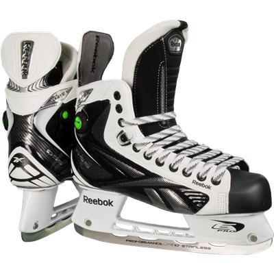 Reebok White K Pump Ice Skates
