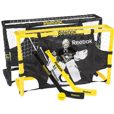 Reebok Marc-Andre Fleury Mini Hockey Deluxe Set