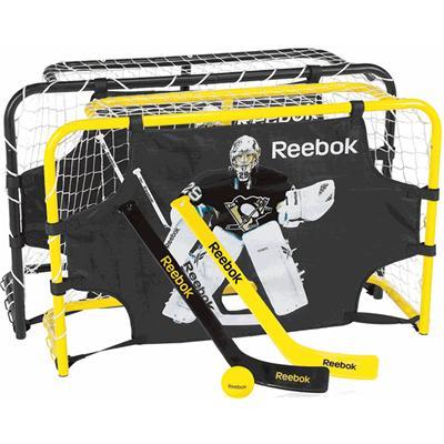 Reebok Marc-Andre Fleury Deluxe Steel Mini Hockey Set