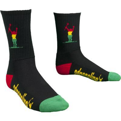 Adrenaline Rasta Socks