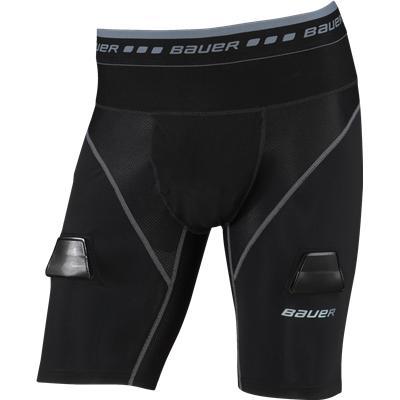 Bauer Elite Compression Lock Jock Shorts