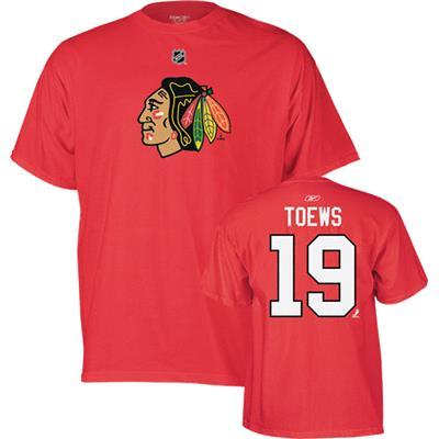 Reebok Jonathan Toews Logo Premier Tee Shirt
