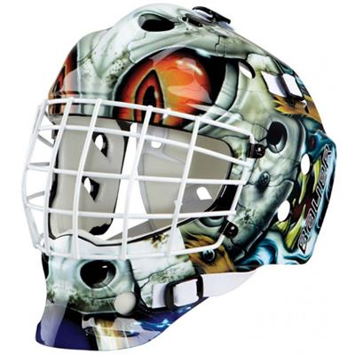Bauer NME Street Decal Goalie Mask