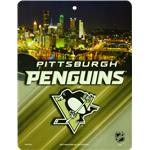 NHL Team Plastic Wall Sign