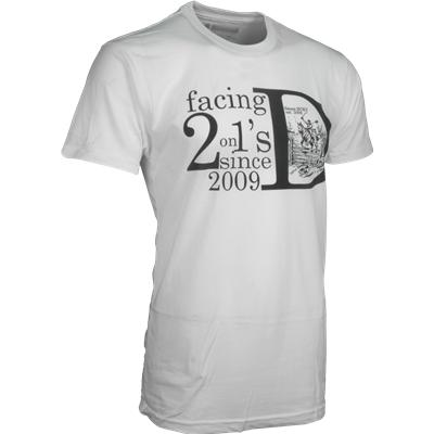 Sauce 2 On 1 Back Check Tee Shirt