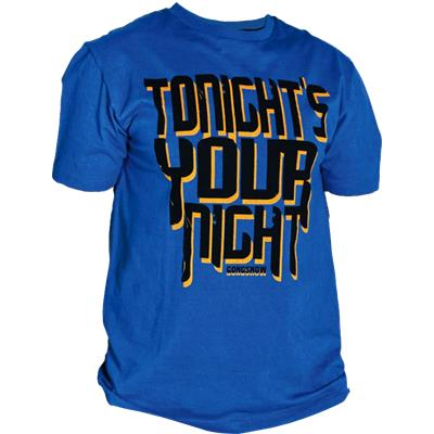 Gongshow Tonights Your Night Tee Shirt