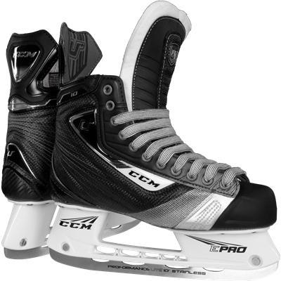 CCM U + 10 Midnight Ice Skates