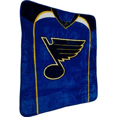 NHL Team Jersey Raschel Blanket