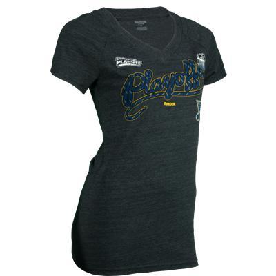 Reebok Blues Playoff Lace Tee Shirt