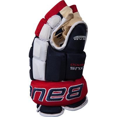 (Bauer Nexus N9000 Hockey Gloves - Junior)