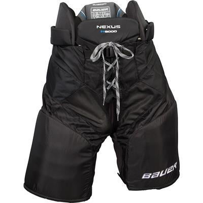 Black (Bauer Nexus N8000 Hockey Pants)
