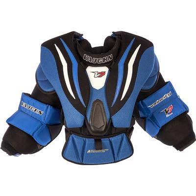 (Vaughn Velocity 7 XR Goalie Chest & Arm Protector - Junior)